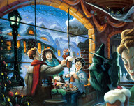 Harry Potter Artwork Harry Potter Artwork Three Friends - PP