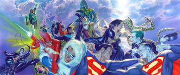 Alex Ross Comic Art Alex Ross Comic Art CLASH!