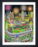 Charles Fazzino 3D Art Charles Fazzino 3D Art 2019 MLB All-Star Game: Cleveland (DX)