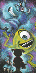Monsters Inc Artwork Monsters Inc Artwork Closet Full of Monsters