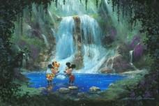 Minnie Mouse Artwork Minnie Mouse Artwork Love in the Rain Forest