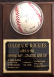 Sports Memorabilia & Collectibles Sports Memorabilia & Collectibles Opening Day 1993 Colorado Rockies Signed Baseball