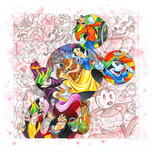 Mickey Mouse Artwork Mickey Mouse Artwork Colorful Characters