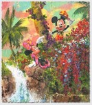 Mickey Mouse Artwork Mickey Mouse Artwork Colorful Island
