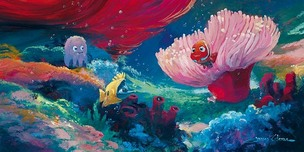 Finding Nemo Artwork Finding Nemo Artwork Come Out and Play (Deluxe)