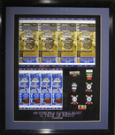 Sports Memorabilia & Collectibles Sports Memorabilia & Collectibles Coors Field Inaugural Season Tickets and Pins - Framed