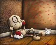Fabio Napoleoni Fabio Napoleoni Counting Down the Days (Original) - Gallery Wrapped