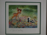 Bambi Art Bambi Art Bright New World (Framed)
