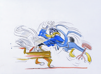 Daffy Duck by Chuck Jones  Daffy Duck by Chuck Jones Daffy Piano