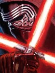 Star Wars Artwork Star Wars Artwork Dark Warrior: Kylo Ren