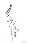 Chuck Jones Animation Art Animation & Super Hero Art Debonair - Bugs Bunny