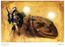 Star Wars Artwork Star Wars Artwork DewBack