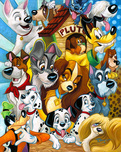 Pluto Artwork Pluto Artwork Disney Dogs