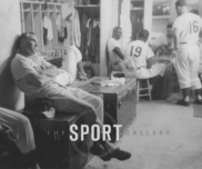 Sports Memorabilia & Collectibles Sports Memorabilia & Collectibles Dodger Clubhouse, 1956