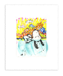 Tom Everhart Prints Tom Everhart Prints Dogg E Paddle II (2)