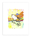 Tom Everhart Prints Tom Everhart Prints Dogg E Paddle XXV (25)