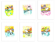 Tom Everhart Prints Tom Everhart Prints Dogg E Paddle Series