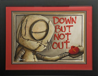 Fabio Napoleoni Fabio Napoleoni Down But Not Out (Original) (Framed)