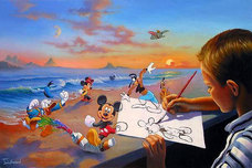 Donald Duck Animation Art Donald Duck Animation Art Dream Maker - Disney
