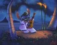 Lilo and Stitch Artwork Lilo and Stitch Artwork Elvis Stitch