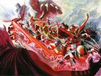 Alex Ross Comic Art Alex Ross Comic Art Evolution