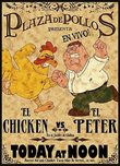 Family Guy Art Family Guy Art Peter vs The Chicken