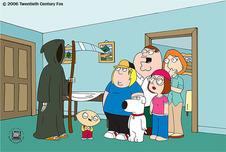 Family Guy Art Family Guy Art Death is a Bitch