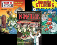20th Century Fox Artwork 20th Century Fox Artwork Futurama Pulp Covers - Set of Three