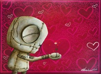 Fabio Napoleoni Fabio Napoleoni Feel the Love (PP) Canvas