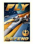 Star Wars Artwork Star Wars Artwork Fly and Defend