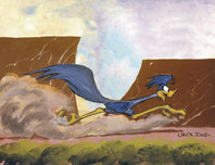 Road Runner Artwork Road Runner Artwork Desert Duo - Road Runner