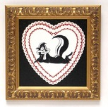 Pepe Le Pew Artwork by Chuck Jones Pepe Le Pew Artwork by Chuck Jones Pepe Valentine - Estate Signed