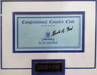 Sports Memorabilia & Collectibles Sports Memorabilia & Collectibles Gerald Ford Signature