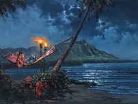 Lilo and Stitch Artwork Lilo and Stitch Artwork Hawaiian Serenade