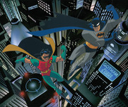 Batman Animation Artwork  Batman Animation Artwork  Gotham's Dynamic Duo (AP)