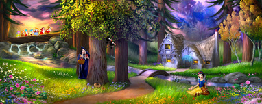 Snow White Artwork Snow White Artwork Happily Ever After