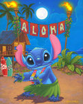 Lilo and Stitch Artwork Lilo and Stitch Artwork Hula Stitch