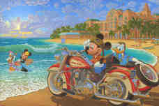 Donald Duck Animation Art Donald Duck Animation Art Where the Road Meets the Sea (Premiere)