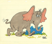 Horton Hears a Who by Chuck Jones Chuck Jones Animation Art Horton the Elephant
