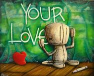 Fabio Napoleoni Fabio Napoleoni How Can I Miss Something I Never Had (AP) Canvas