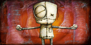 Fabio Napoleoni Fabio Napoleoni I Love You This Much (PP) Canvas