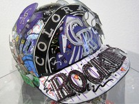 Sports Memorabilia & Collectibles Sports Memorabilia & Collectibles Baseball Helmet Colorado Rockies