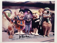 Hanna-Barbera Artwork Hanna-Barbera Artwork Joe Barbera Signed Photograph