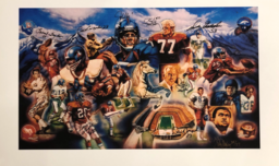 Sports Memorabilia & Collectibles Sports Memorabilia & Collectibles Ring of Fame II Lithograph (AP) (Framed)