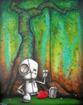Fabio Napoleoni Fabio Napoleoni If I Could Only Go Back (SN) Canvas - Gallery Wrapped