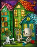 Fabio Napoleoni Fabio Napoleoni In Case of Emergency (SN) Canvas (Gallery Wrapped)