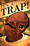 Star Wars Artwork Star Wars Artwork It's A Trap!