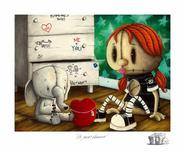 Fabio Napoleoni Fabio Napoleoni It's Yours Forever (AP) Itty Bitty Collection (Framed)