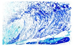 Tom Everhart Prints Tom Everhart Prints Jean Michel's Wake (Aluminum) (AP)
