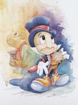 Pinocchio Artwork Pinocchio Artwork Jiminy Cricket